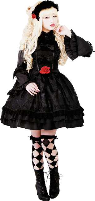 Gothic clothing and dark fashion for women  The Black Angel